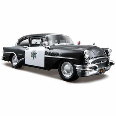 Modelauto buick century politieauto 1955 1 24