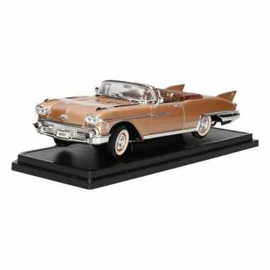 Modelauto cadillac eldorado biarritz cabrio 1958 1 18