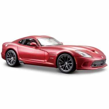 Modelauto dodge viper gts srt 2013 1 24