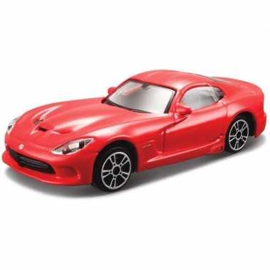 Modelauto dodge viper gts srt 2013 1 43