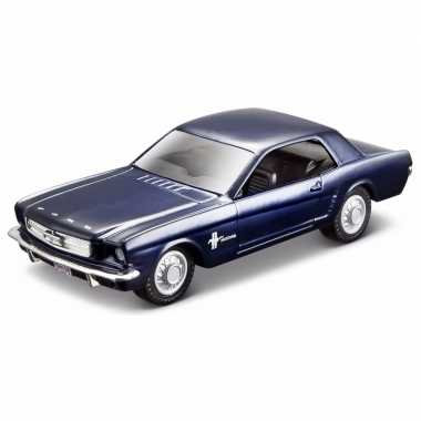 Modelauto ford mustang 1965 1:32