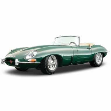 Modelauto jaguar e-type 1:18