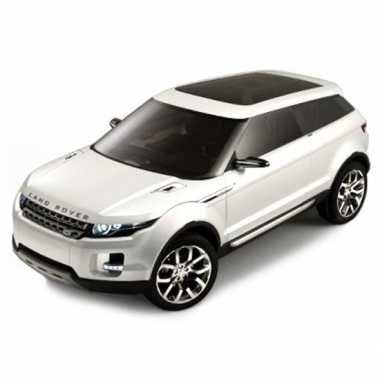Modelauto land rover lrx wit 1 43