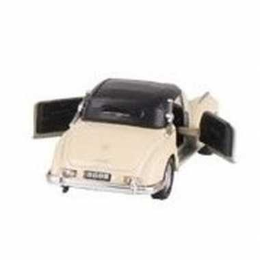 Modelauto mercedes benz 300s auto creme 11 6 cm