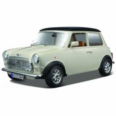 Modelauto mini cooper 1969 1:18