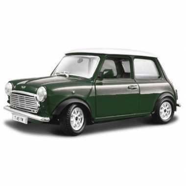 Modelauto mini cooper 1969 1:24
