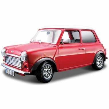 Modelauto mini cooper 1969 1:32