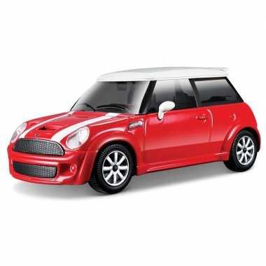 Modelauto mini cooper s 1:43