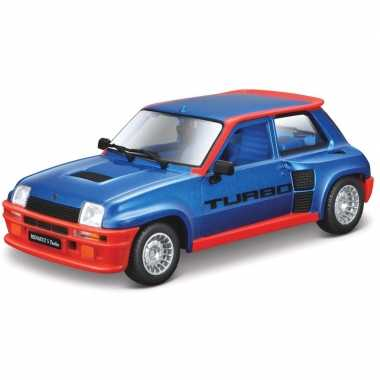 Modelauto renault 5 turbo 1:24