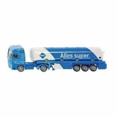 Siku blauwe tankwagen speelgoed modelauto 1:87