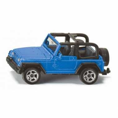 Siku jeep wrangler modelauto