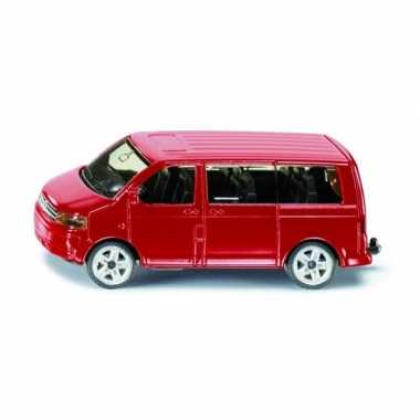 Siku transporter modelauto rood