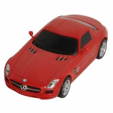 Speelgoed rode mercedes sls amg auto 16 cm